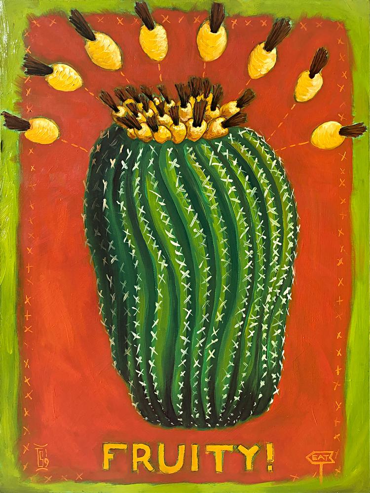 Desert No. 1 (fruity!) | 18 x 24 in. | oil on panel, 2019